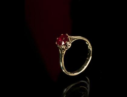 prsten sa rubinima