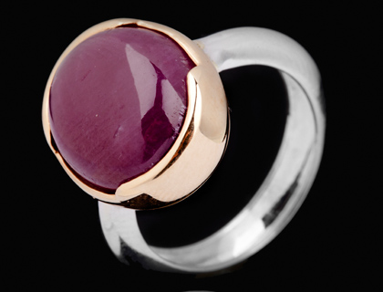 Prstenje sa rubinom