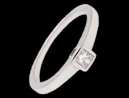 verenički prsten belo zlato
