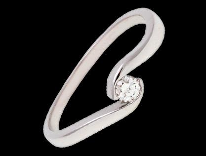 vereničko prstenje belo zlato