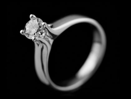 Verenički prsten sa briliantom