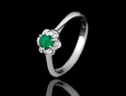 Verenički prsten sa smaragdom