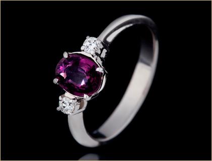 verenicko prstenje verenicki prsten sa violet safirom