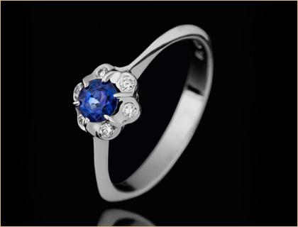 Verenicki prsten sa safirom