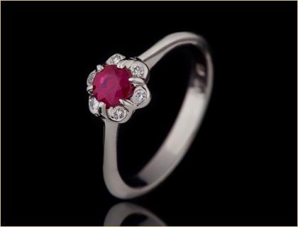 verenicko prstenje verenicki prsten sa rubinom