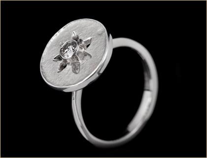 Verenicki prsten belo zlato