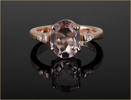 Verenicko prstenje od roze zlata