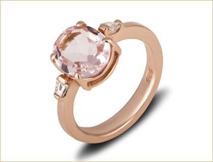 verenicko prstenje verenicki prsten roze zlato