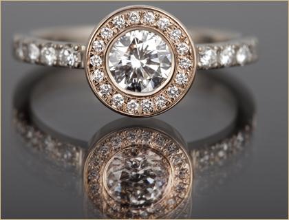 verenicki prsten belo roze zlato