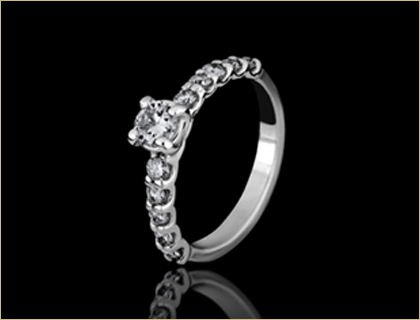 verenicko prstenje verenicki prsten belo zlato