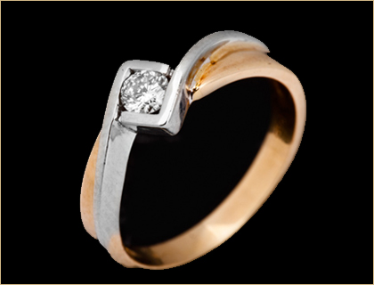 verenicki prsten belo zuto zlato