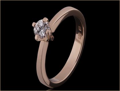 verenicki prsten roze zlato