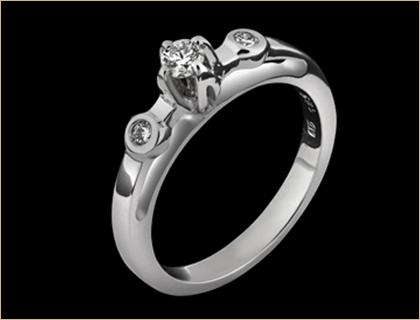 verenicko prstenje belo zlato
