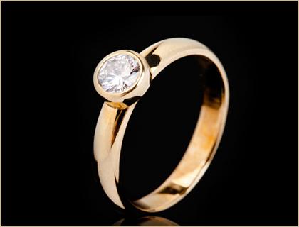 Verenicko prstenje od zutog zlata