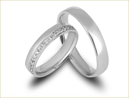 burme od belog zlata sa dijamantima