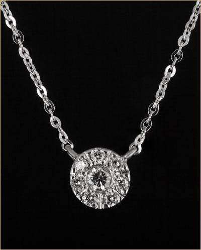 ogrlica belo zlato